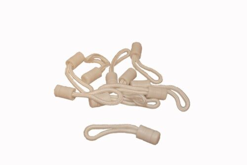 Pull Cords For Stayput Fasteners And Zippers