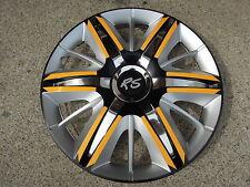 "4 Alu-Design Radkappen 13 Zoll ""MAXIMUS GTS-RS sonnengelb"""