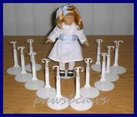 One Dozen 12 Miniature Doll Stands Fits 6 Mini American Girl Dawn
