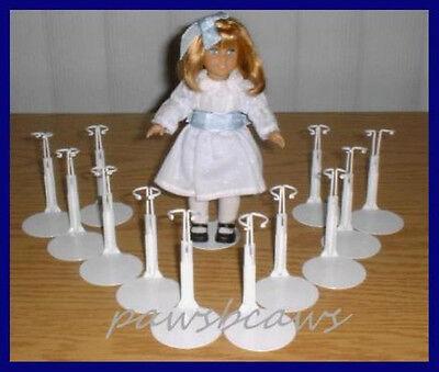 "3 Kaiser 1190 Purple Metal Doll Stands tall Nancy Ann Dawn fits 6/"" Dolls"