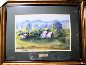 Brenda-Roberton-pastel-painting-039-Morning-Mist-039-Australia