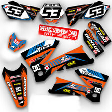 2003 KTM EXC 450 525 GRAPHICS KIT MOTOCROSS DIRT BIKE DECALS MX STICKERS