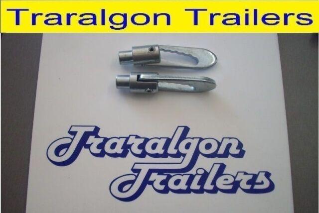 2x anti rattle anti loose latch bolt weld on trailer truck tailgate antiluce UT4