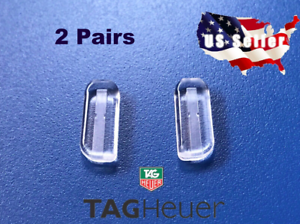 2-Pairs-High-Quality-Silicone-Replacement-Nosepads-For-Tag-Heuer-Glasses-Plug-in