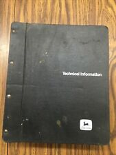 John Deere 6600 Sidehill 6600 7700 Combine Technical Manual Tm1021
