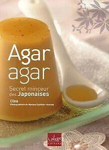Agar-agar-Secret-minceur-des-Japonaises-Livre-etat-tres-bon