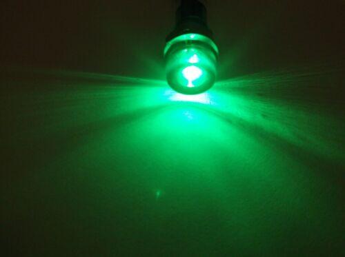 5 BBT 120 volt AC Waterproof Green LED Hi-Profile Indicator Lights