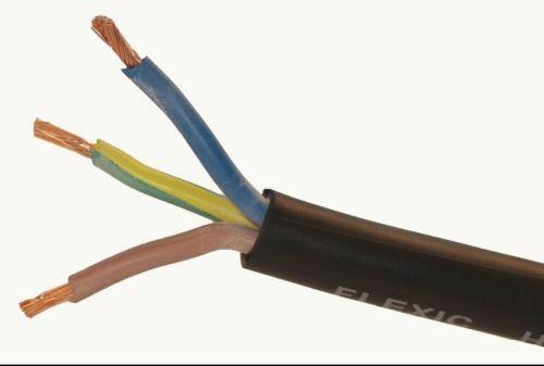 Cable de Goma Flex H07RN-F 3183TRS pesado deber Estanque Bomba de extensión de al aire libre