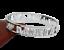 miniatuur 89 - Bracciale da donna in acciaio inox rigido a manetta con nome in zirconi bianchi