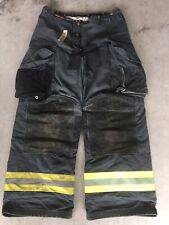 Firefighter Janesville Lion Apparel Turnout Bunker Pants 32x30 07 Black Costume