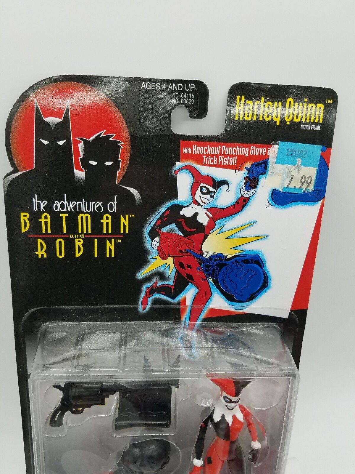 Batman Harley Quinn w// Knoxkout Punching Glove Kenner c-036a