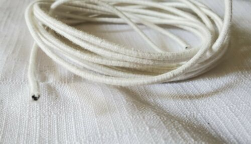 """Flexible 1//16/"""" diameter Doll String//Cord for Stringing Doll Parts Fabric Covered"""