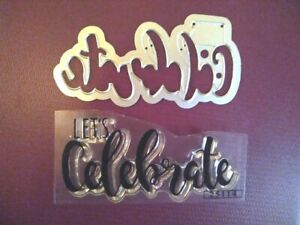 Sizzix Die Cutter BIRTHDAY CANDLE Thinlits fits Big Shot Cuttlebug