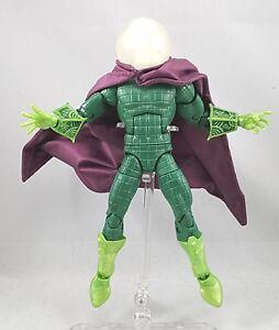1/12 Stoff Lila Kabelgebunden Kap Für Marvel Legends Mysterio no Gut Ausgebildete Su-c-mys