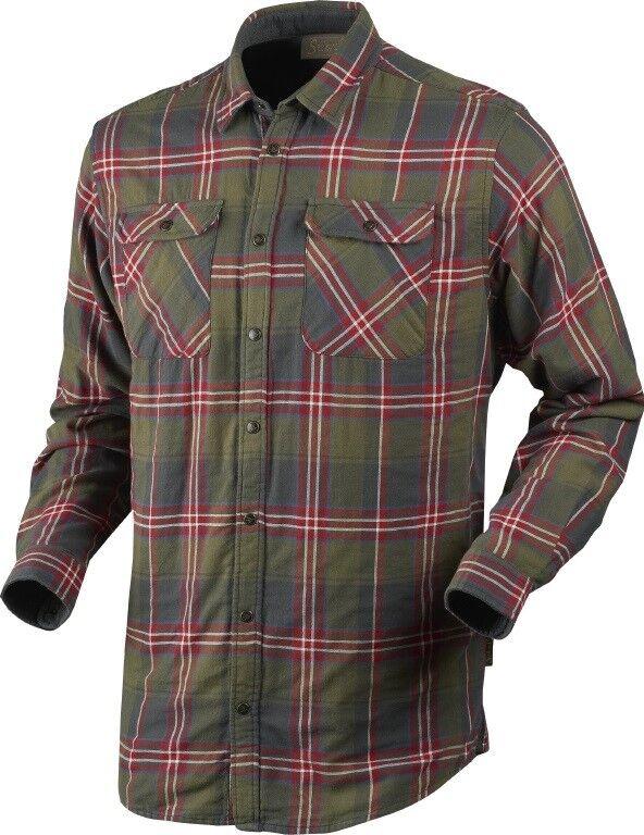 novedad  Seeland thermohemd Nolan - 2-capas-Pine Check