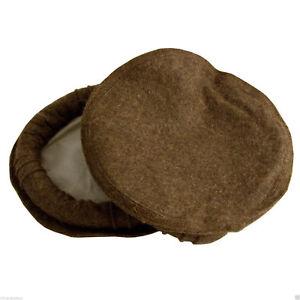 Handmade Premium Wool Hat CAP Pakol Cap pakul taliban army brown ... 7c28affa8e3b
