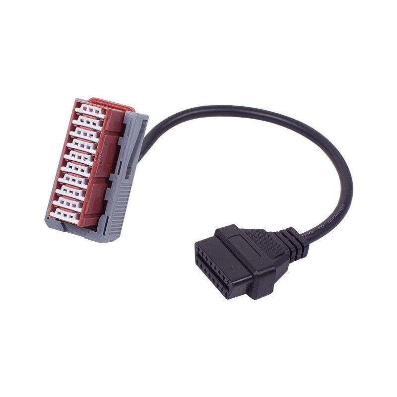 30 Pin OBD 2 PP2000 Car Connector Adapter Cable