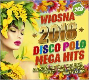 Wiosna 2018 Disco Polo Mega Hit DISCO POLO [2CD] POLISH Shipping Worldwide. - Szydlowiec k Radomia, Polska - Wiosna 2018 Disco Polo Mega Hit DISCO POLO [2CD] POLISH Shipping Worldwide. - Szydlowiec k Radomia, Polska