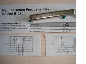 Einseitenbandfilter-2-35-kHz-Bandbreite-unteres-Seitenband-ohne-Umsetzung-RFT