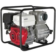 4 Intakeoutlet Trash Pump 11 Hp Honda Gx270 Engine 150 Gpm