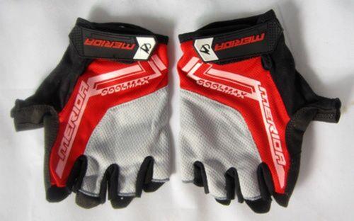 2018 Merida Cycling Shockproof Half Finger Glove Outdoor Sport Bicycle Glove