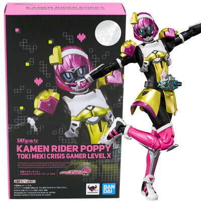 S.H.Figuarts Kamen Rider Poppy?Toki Meki Crisis Gamer Level X Figure Bandai