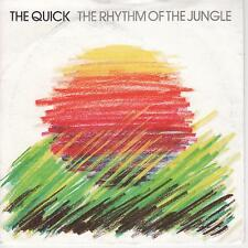 """THE QUICK - The Rhythm Of The Jungle - 1981 UK Epic 2-track 7"""" vinyl single -p/s"""
