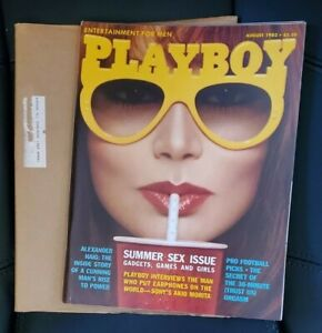 The Playmate - Playboy Magazine August 1982 vol.29, no.8