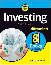 Investing All-In-One for Dummies by Eric Tyson (2017, Paperback)