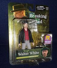 "Breaking Bad WALTER WHITE HEISENBERG Red Shirt PX Exclusive 6"" Figure Mezco"