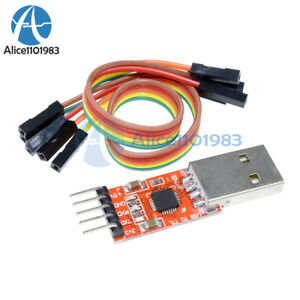 New-USB-2-0-to-TTL-UART-5PIN-Module-Serial-Converter-CP2102-STC-PRGMR-Free-cable