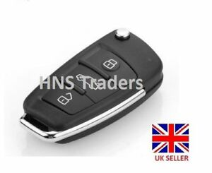 Flip Remote Key Shell fit for AUDI 3 Button Case A2 A3 A4 A6 A6L A8 TT LOGO A21 - Ilford, United Kingdom - 14 day peace of mind guarantee, if decided not to use it, return unopened within 14 days for a full refund Most purchases from business sellers are protected by the Consumer Contract Regulations 2013 which give you the right to ca - Ilford, United Kingdom