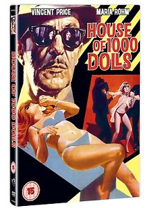 House-of-1000-Dolls-DVD-NEW-amp-SEALED-Vincent-Price