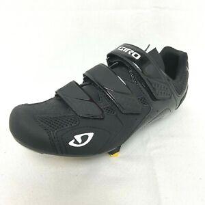 Giro Treble II Men's Cycling Shoes Black EUR 43 US 9.5 w/Shimano SM-SH11 Cleats