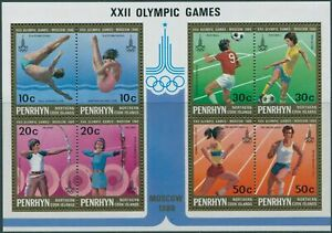 Cook-Islands-Penrhyn-1980-SG160-Olympic-Games-MS-MNH