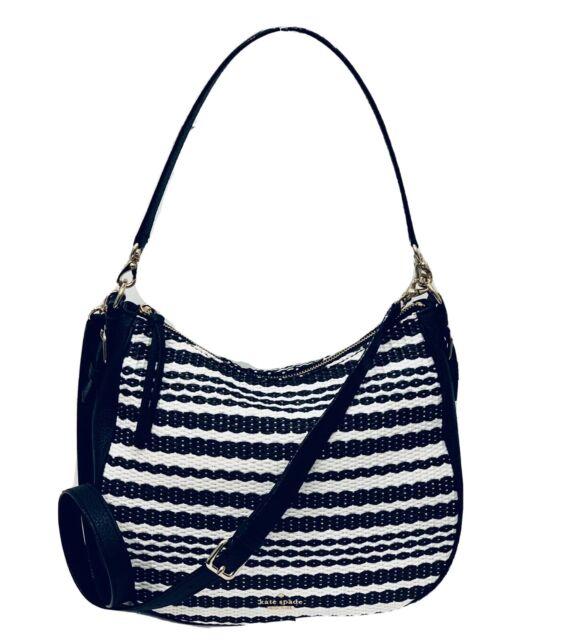 Kate Spade Cobble Hill Fabric Abela Abela Multi Stripe Crossbody Shoulder Bag