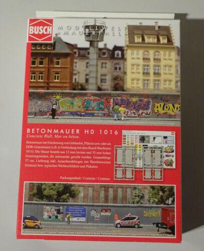 Busch h0 modelo ferroviario kits nuevo//en el embalaje original de selección Gok