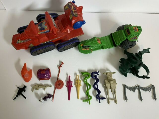 HE-MAN MASTERS OF THE UNIVERSE MOTU LOT OF PARTS & WEAPONS VINTAGE MATTEL 1980S