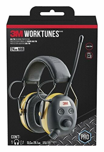 3M WorkTunes Hearing Protector with AM//FM Radio
