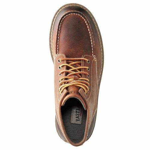 #7241-07 EASTLAND LUMBER UP PEANUT MEN/'S HANDCRAFTED CLASSIC MOC TOE WORK BOOTS