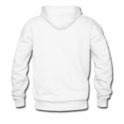 Men/'s /& Women Plain White Sweatshirt Heavyweight Pullover Hoodies Fleece Hoody