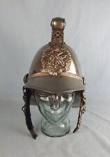 British Officers Merryweather Pattern Fire Helmet In Nickel Silver