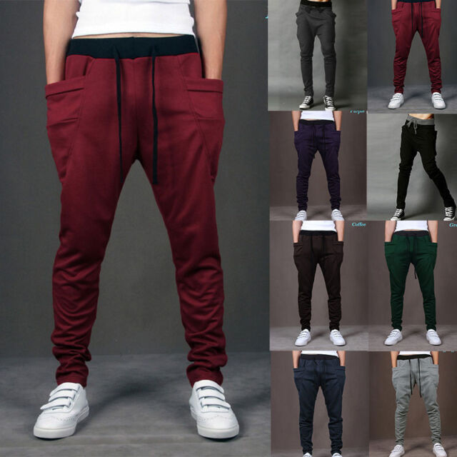 MEN Women CASUAL JOGGER Dance Harem Sport Pants Baggy SLACKS Trousers SWEATPANTS