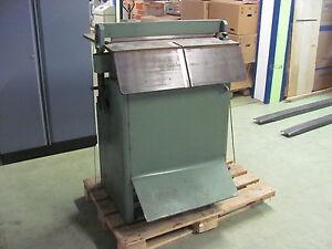 Polter Nutmaschine Perforiermaschine Papierbearbeitungsmaschine Druck Fest In Der Struktur Treu Bickel