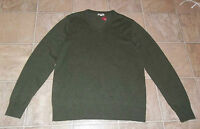 Merona Sz M Men's Sweater Olive Green In Color Long Sleeves