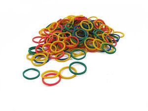 250 Small Mini Elastics Rubber Hair Bands Braiding Plaits Dreads