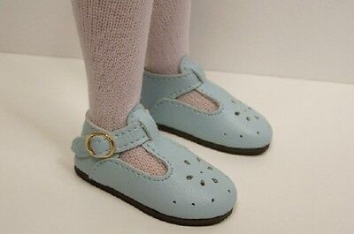 "LT Light GREEN T-Strap Doll Shoes For 14/"" Kish Lark Piper Raven DEBs"