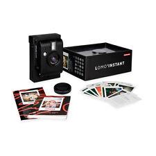 Lomography Lomo'Instant Black Edition Instant Film Camera Flash Photography Gift