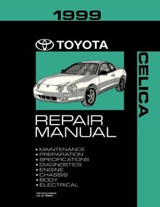 image is loading 1999-toyota-celica-shop-service-repair-manual-book-