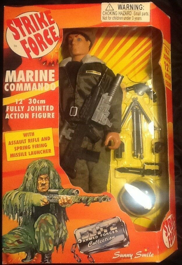 Strike Force Marine Commando 12 Inch 30cm Action Figure MINT